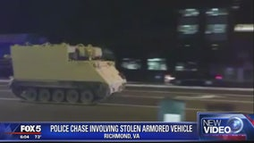 Police: National Guard officer accused of stealing armored vehicle was under influence of drugs