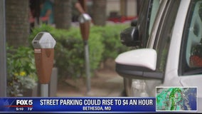 Street parking could rise to $4 an hr. in Bethesda