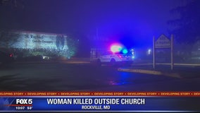 Victim found dead outside church in Montgomery County