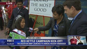FOX 5 DC CARES: Salvation Army Red Kettle Campaign Kick-Off