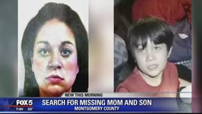 Missing mother and son missing, last seen in Montgomery County Saturday