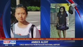 12-year-old Chinese girl abducted at Reagan National Airport sparking Amber Alert