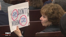 Montgomery County residents voice concerns on I-270, I-495 widening project