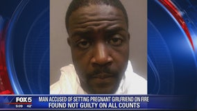 NOT GUILTY: Man acquitted of charges of setting pregnant girlfriend on fire