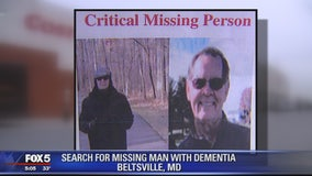 Police searching for missing 65-year-old Prince George's County man with dementia