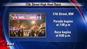 DC ready for big celebration for 32nd annual 17th Street High Heel Race