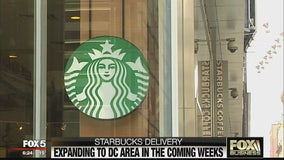 Starbucks delivery expanding to DC area
