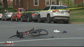 Bicyclist hospitalized after hit-and-run in Southeast DC