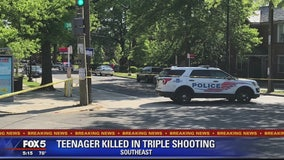 Teen killed in triple shooting in DC, police say
