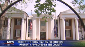 Activist receives conditional approval to burn Confederate-Nazi flag outside Loudoun Co. courthouse