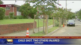 Child shot, two others injured in Southeast less than 1 mile from where 10-year-old Makiyah Wilson was shot