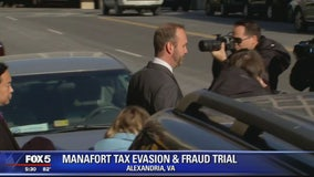 Rick Gates returns to stand for second day of testimony at Paul Manafort trial