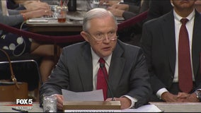 Attorney General Jeff Sessions testifies at Senate hearing