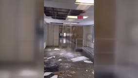 VIDEO: Pipe bursts inside Bowie High School