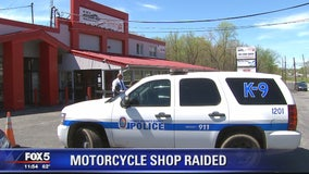 Popular Prince George's County motorcycle shop raided by police