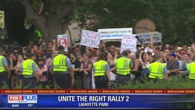 Unite the Right DC: Counterprotesters drastically outnumber white supremacists in DC