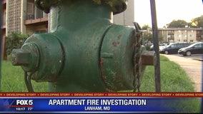 Fire officials: Hydrants hindered firefighters battling Lanham apartment complex fire