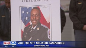 Fallen Prince George's County Police Sgt. Mujahid Ramzziddin remembered at vigil