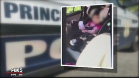 Prince George's County officer says child from hot car