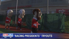 Nationals hold racing presidents tryouts