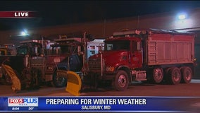 Eastern Shore preparing for huge winter storm