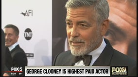 FOX Business Beat:George Clooney ranks as highest paid actor