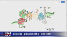 Falls Church second grader winner of 2018 Doodle 4 Google