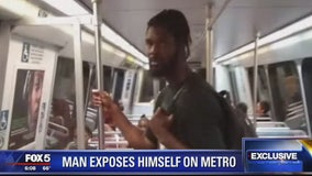 Metro indecent exposure suspect connected to groping incident