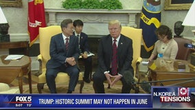 President Trump says historic US-North Korea summit may be delayed
