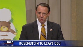 Rosenstein to leave DOJ once new AG confirmed