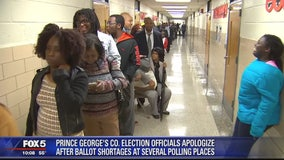 Prince George's County election officials apologize for ballot debacle