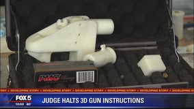 Judge blocks release of blueprints for 3D-printed guns