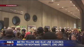 COMMUTER CHAOS: Commuters face travel mess with Metro station closures
