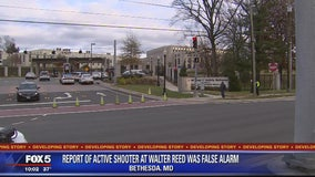 Walter Reed active shooter report caused by mass notification error, Navy says