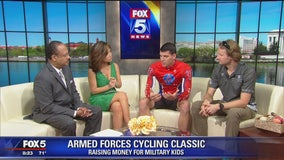 Armed Forces Cycling Classic fundraiser for Our Military Kids