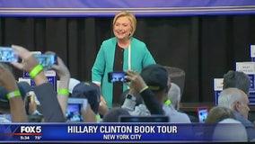 Hillary Clinton kicks off book tour