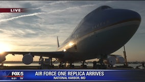 Air Force One replica to go on display at National Harbor