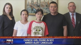 Chinese girl whose disappearance at Reagan National Airport sparked Amber Alert found safe in New York