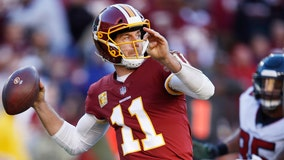 Redskins QB Alex Smith breaks the silence about breaking his leg to FOX 5's Angie Goff