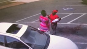 Shocking video shows woman drop baby during fight outside beauty store, causing fatal injuries