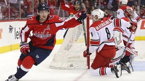 Capitals beat Hurricanes 6-0 to take 3-2 series lead