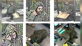 Camo-clad thief loots Takoma Park store