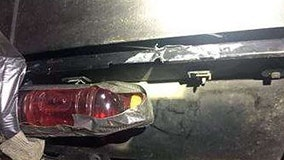 Police: Colorado driver replaces tail light with red sports drink