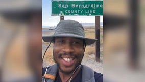 Man successfully walks from Minneapolis to California for good cause