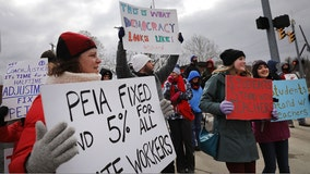 W.Va. teachers' unions call for strike over education bill