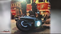 First crash on rentable moped in DC