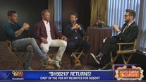 Brian Austin Green, Ian Ziering and Jason Priestley in 'BH90210'