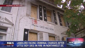 Landlord facing criminal charges after man, boy die in DC fire