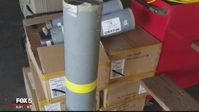 2nd rocket launch device seized at BWI airport