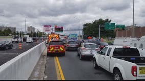 Traffic prevents emergency crews from responding to crash on I-395 in Arlington